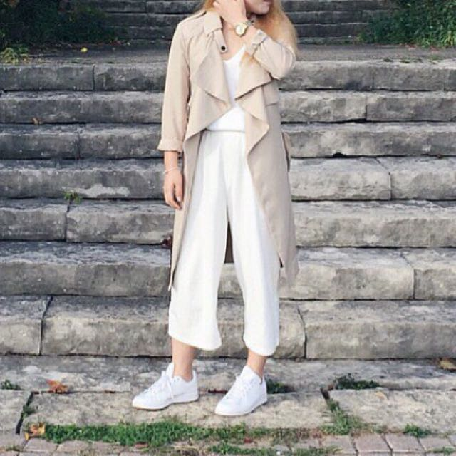 Oak and fort white culotte