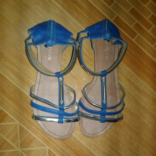 Parisian Ankled Strapped Gladiator Sandals (Size 7)