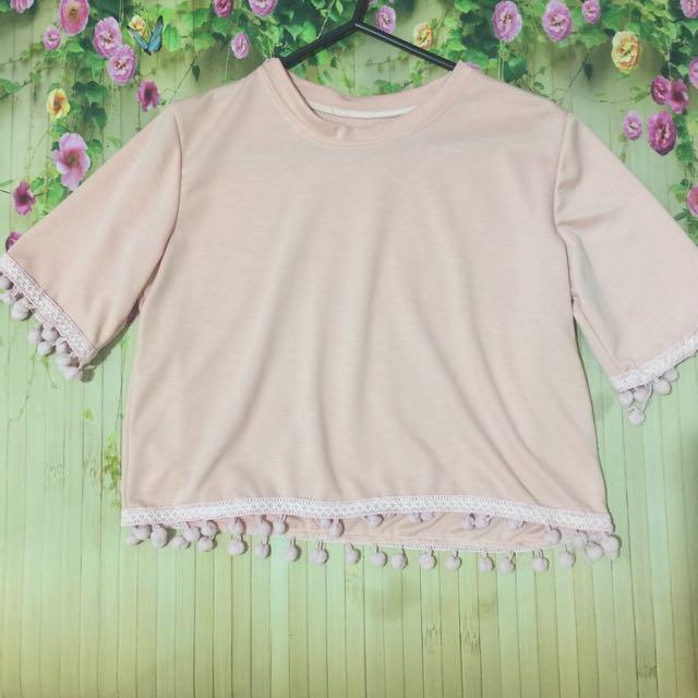 Pastel Pink Top