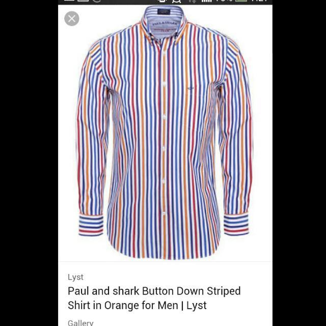 Paul & Shark Long Shirt Original