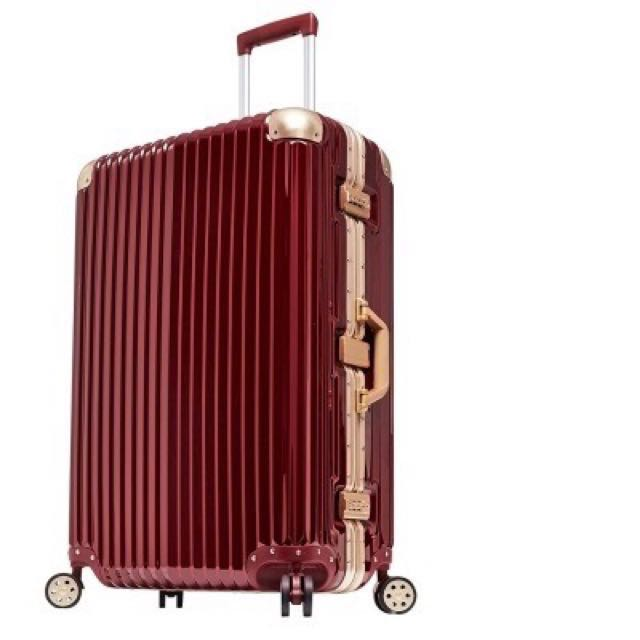 免運費💋異次元PC鏡面行李箱鋼鐵配色#幫你省運費