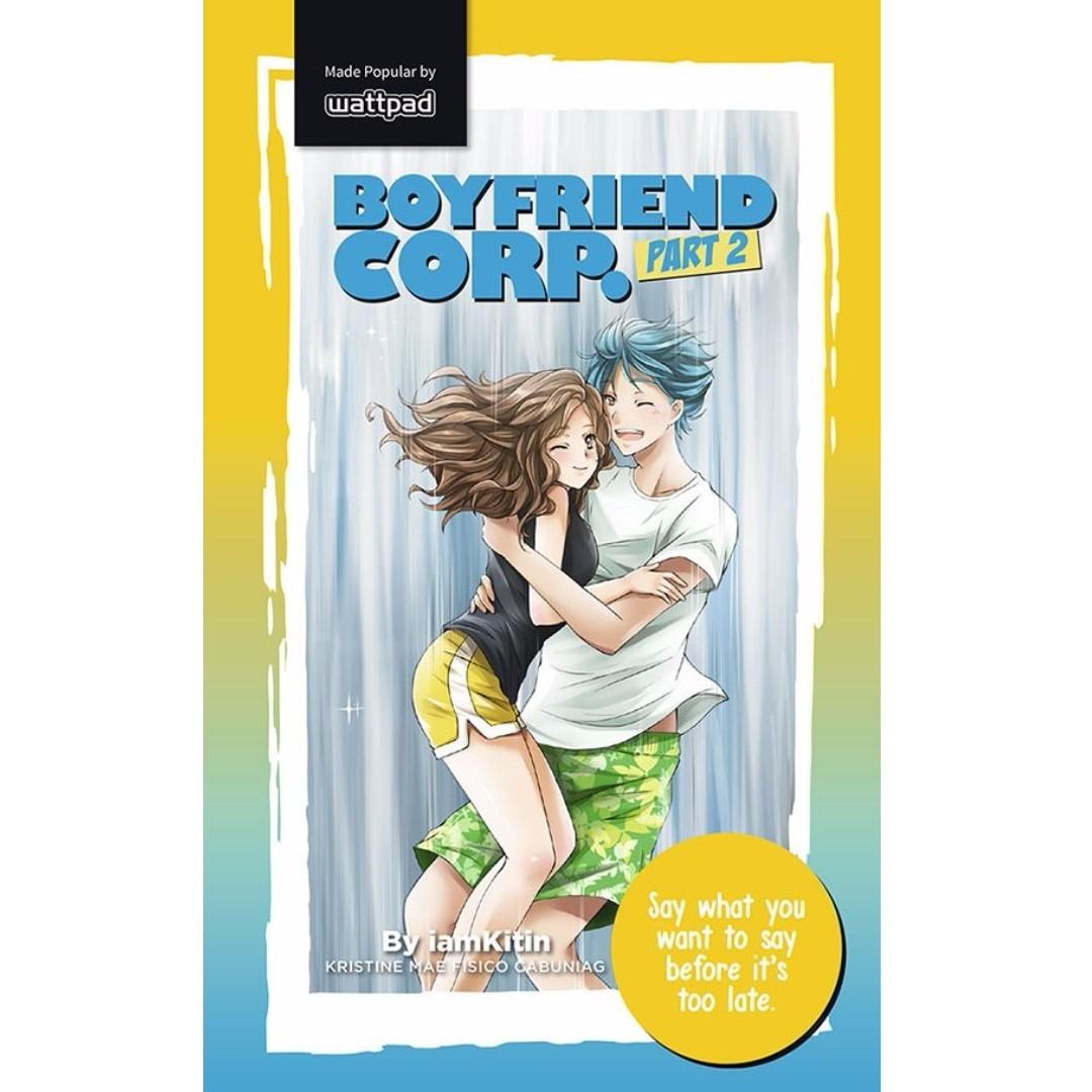 Wattpad Pop Fiction Boyfriend Corp Part 2 Books Books On