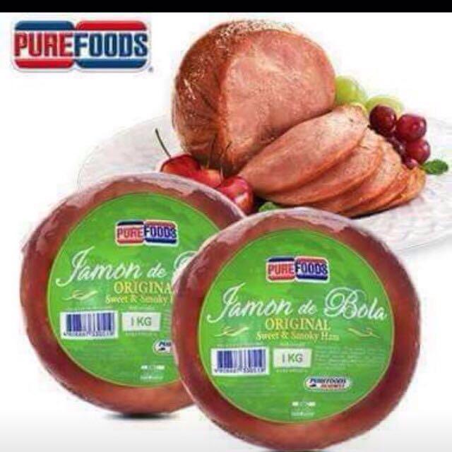 Purefoods Jamon de Bola (ham)
