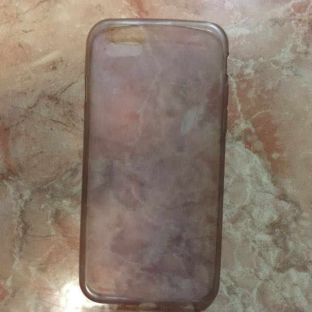 Purple-ish Transparent IPhone 6/6s case