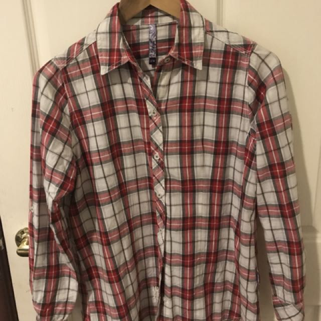 Red Comfortable Flannel