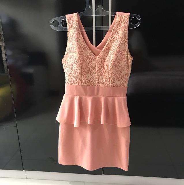 REPRICE Premium dresss peach