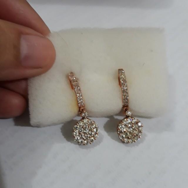 Rosegold Earring