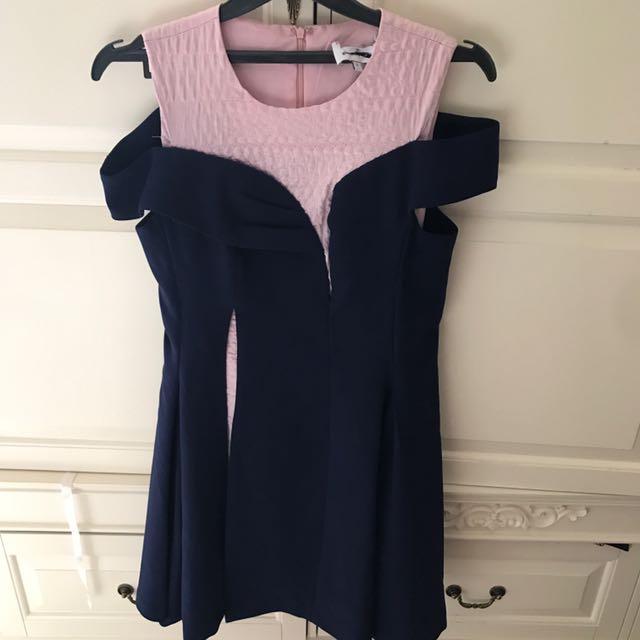 Sabrina Dress Pink Blue