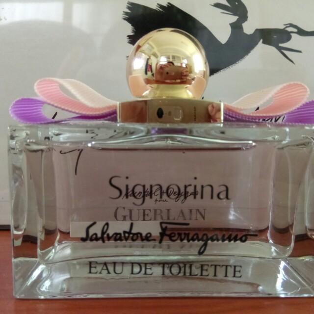 【Salvatore Ferragamo】芭蕾女伶 女性淡香水(1000ml)試用品
