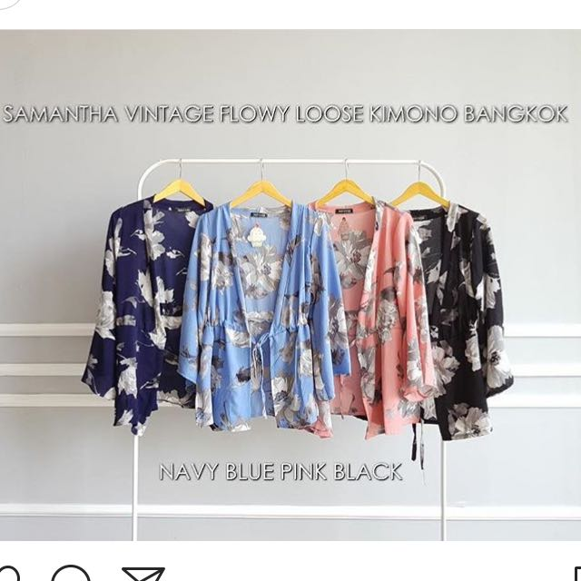 Samantha kimono outer