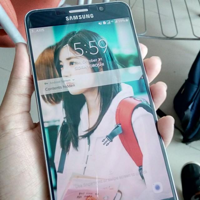 Samsung Galaxy Note 5 Sein
