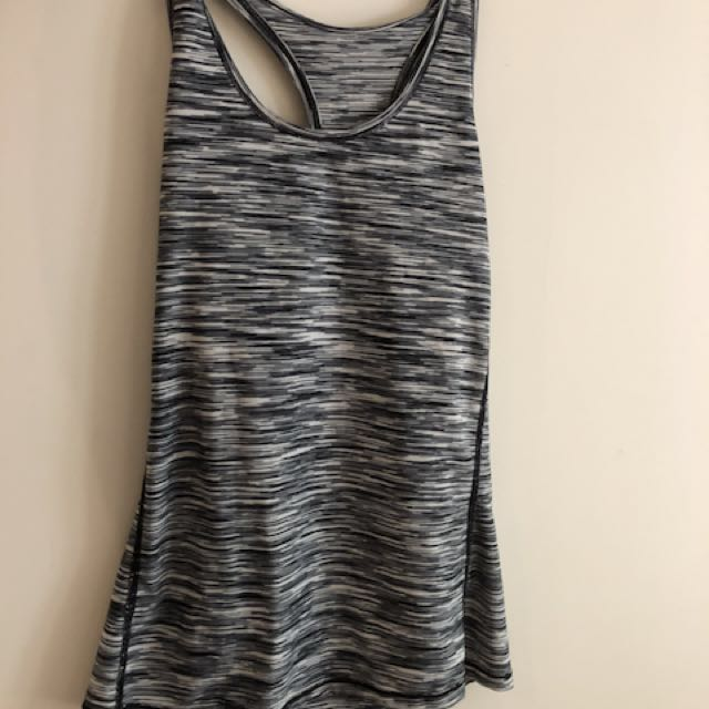 Size small Grey Fitness singlet