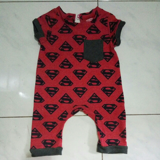 Superman Baby Boy Jumper Bobo Kids
