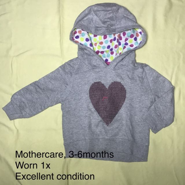 Sweater baby with kapucon Mothercare (preloved)