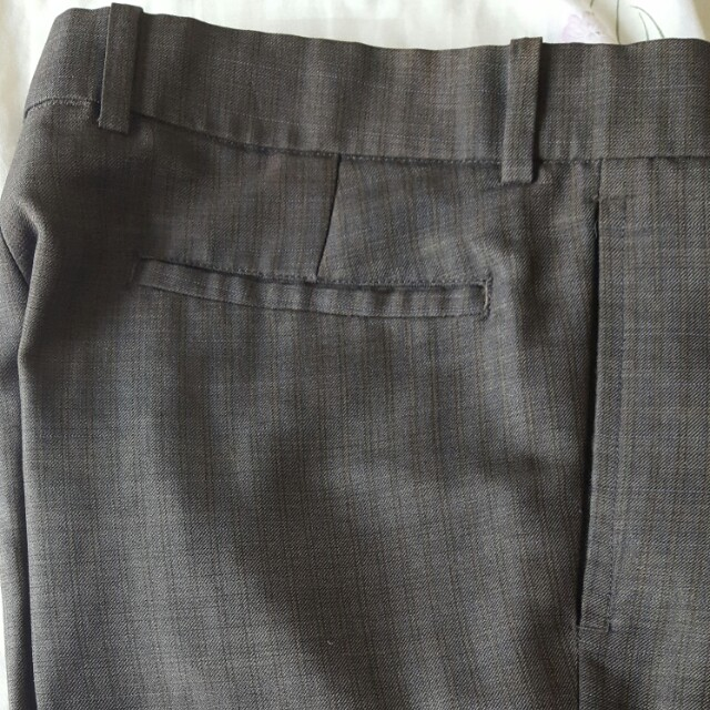 Tailor made office pants for men