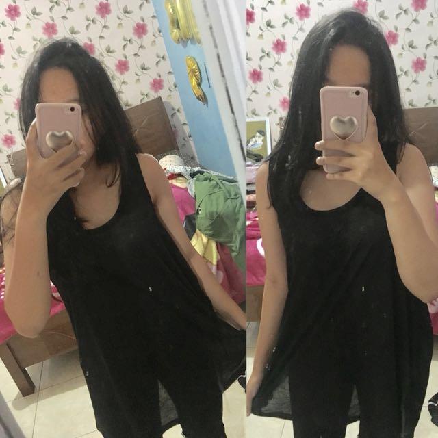 Tanktop hnm h&m preloved baju second bekaa shirt