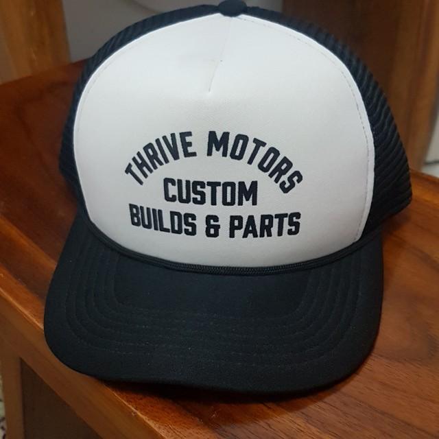 Thrive motor custom hats trucker