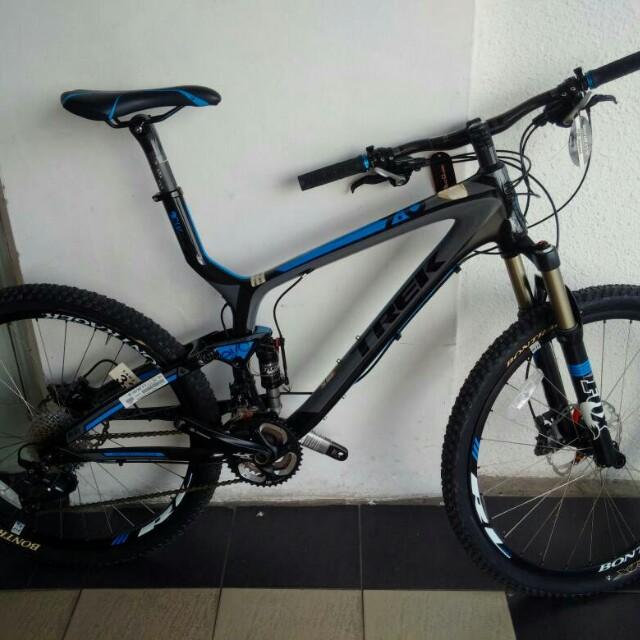 7f0bb59b53d Trek-mtb Top Fuel 9.8 17.5 Onyx Gy (Item 1), Sports, Bicycles on ...