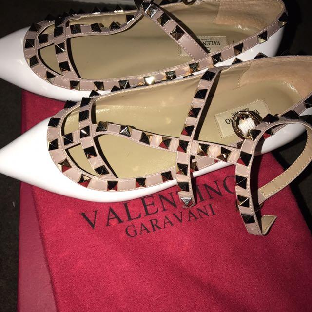 Valentino flats size 36