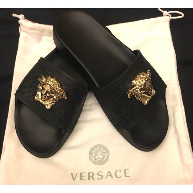 Versace 金色梅杜莎頭拖鞋 最火拖鞋