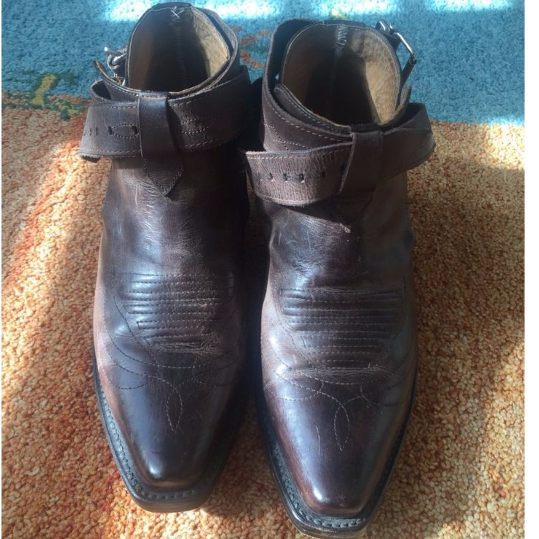 Vintage Replay Leather Ankle Boots
