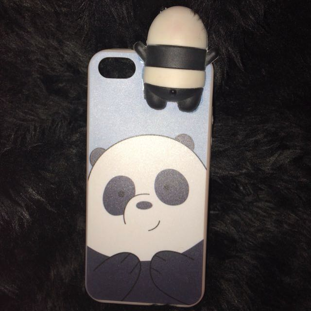 sports shoes 52884 09c17 We Bare Bears Panda Case for iPhone 5s on Carousell
