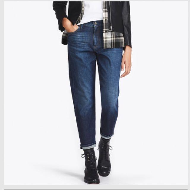 Women slim boyfriend fit jeans