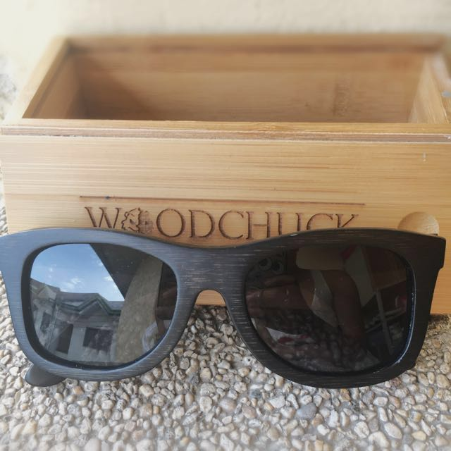 WOODCHUCK Black Sunglasses