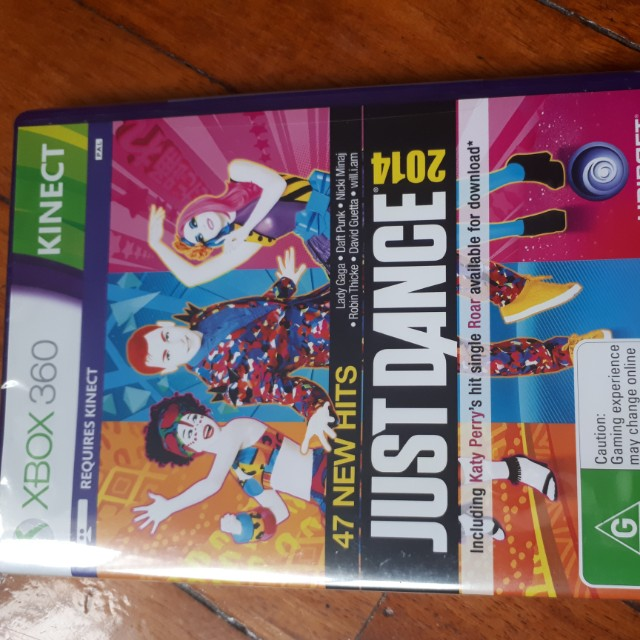 Xbox 360 kinect just dance