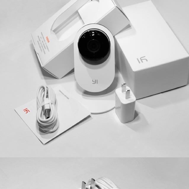Xiaoyi YHS-113 Camera with Wifi and speaker.