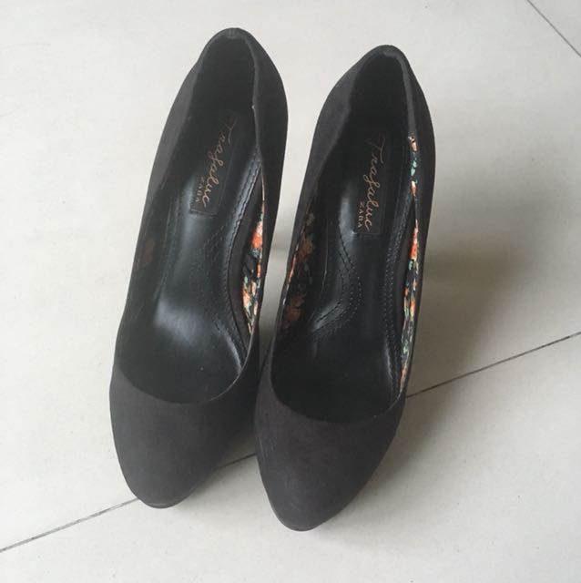 Zara black stilettos