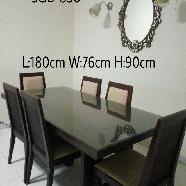 Zen Dining Table Furniture Tables Chairs On Carousell