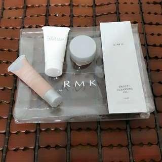 🚚 RMK 隔離 粉霜 皂 潔顏油 組