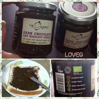 有機黑朱古力榛子醬/ Mr Organic Dark Chocolate and Hazelnut Spread - Vegan