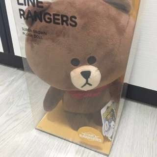LINE Rangers Super Brown stuff toys