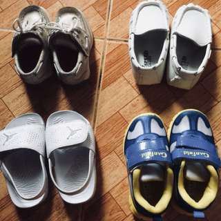 Garfield, Sperry and white Top Sider (JORDAN sold)