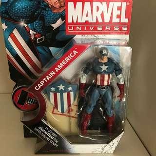 Captain America figure Marvel Universe