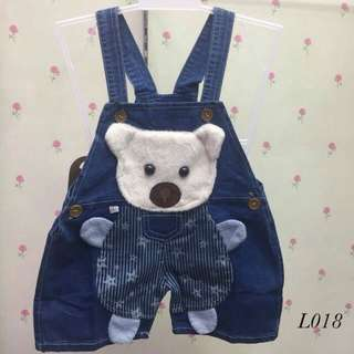 Overall Jeans Panda