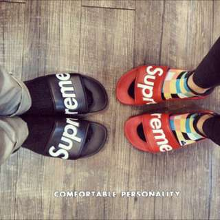 ❤️Supreme Leather Slippers