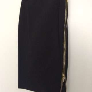 Marciano zipper skirt