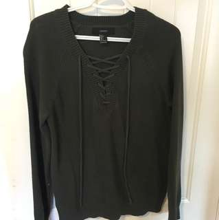 F21 Evergreen Sweater (S)