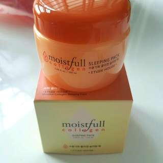[BNIB] Etude House Moistfull Collagen Sleeping Pack 100ml