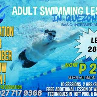 Swimming Lessons In Quezon City