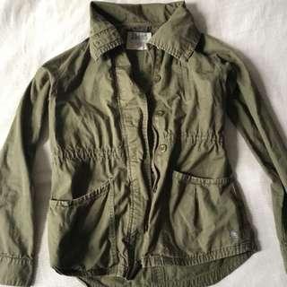 Billabong Army Green Fall Jacket