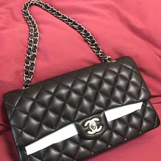 超抵-Chanel Classic Flap Medium 羊皮銀錬