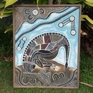 Aboriginal Art Malleefowl