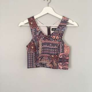 XS Summer crop top