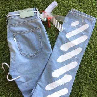 Brand New OFF WHITE Jeans size 32