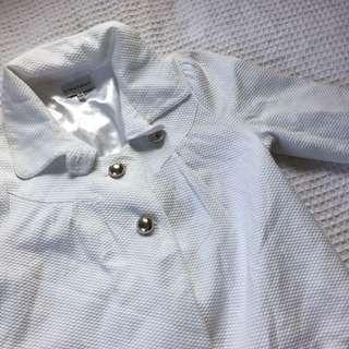 Cottony cropped jacket