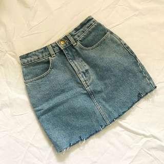 American Apparel Denim Skirt